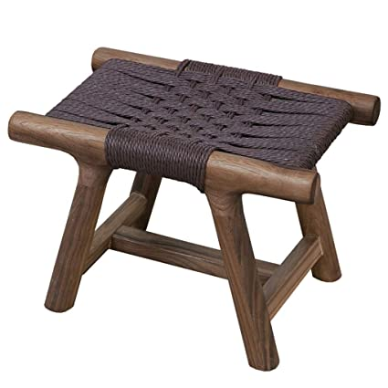 Excellent Zhaoyongli Stools Footstools Pure Solid Wood Hand Woven Machost Co Dining Chair Design Ideas Machostcouk