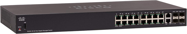 Cisco Commutateur administrable PoE Gigabit SG350-10MP 10/Ports SG350-10MP-K9-EU