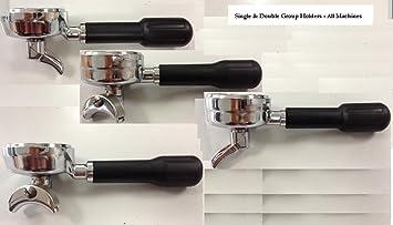 Soporte de filtro de doble (Grupo de máquina de café Espresso café portafiltro) adecuado