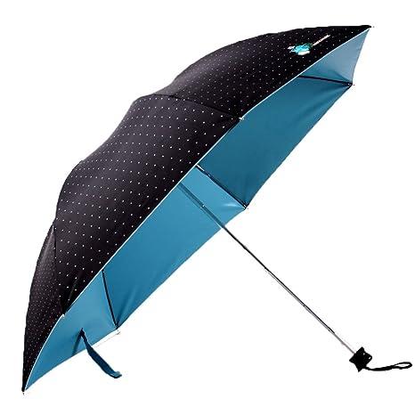 migobi Ultraligero plegable 40 cm), diseño de lunares, paraguas de sol/lluvia