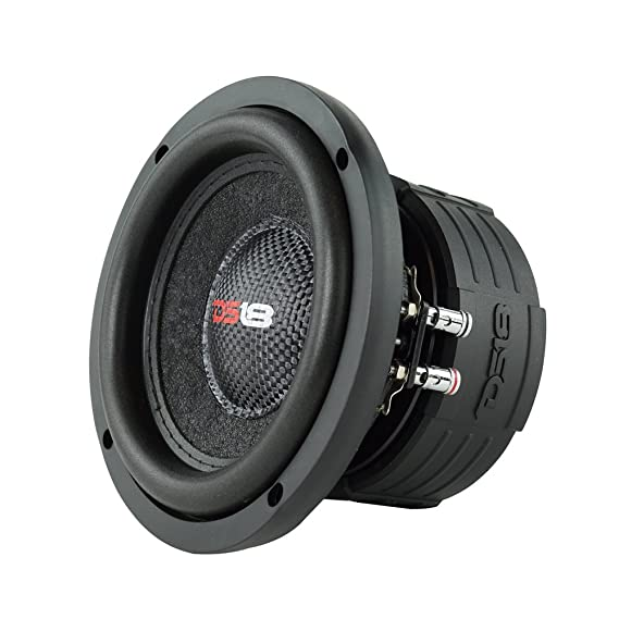 Amazon.com: DS18 Elite Z6 6.5 Inch Subwoofer 600W Max 300W Rms Dual ...