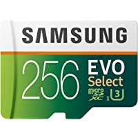Samsung Electronics EVO Select 256GB MicroSDXC UHS-I U3 100MB/s Full HD & 4K UHD Memory… photo