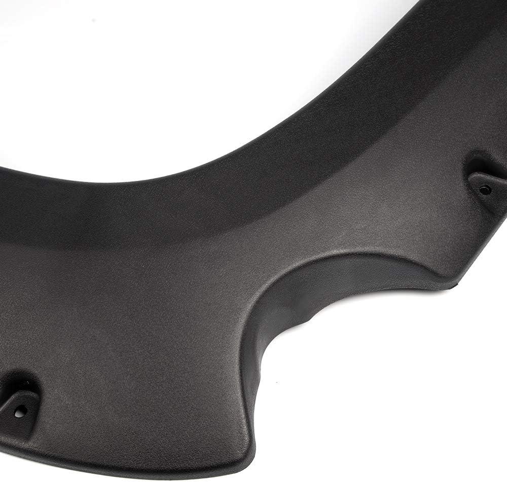 Speedmotor 4Pcs Textured Black Pocket Bolt-Riveted Car Wheel Fender Flares Set Compatible for Chevy 2007-2013 Silverado 1500 Excludes 07 Classic Models   ONLY Fit 69.3 Short Bed