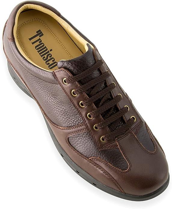 Be Taller 7 cm Masaltos Height Increasing Shoes for Men Model Venecia 2.75 inches