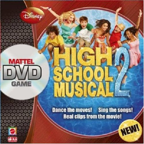 Mattel High School Musical DVD Board Game 2 (Vhs Board Game)