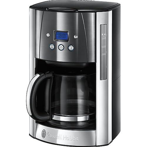 Russell Hobbs 23241 Luna Grey Filter Coffee Maker, 1000 W, 1.8 liters