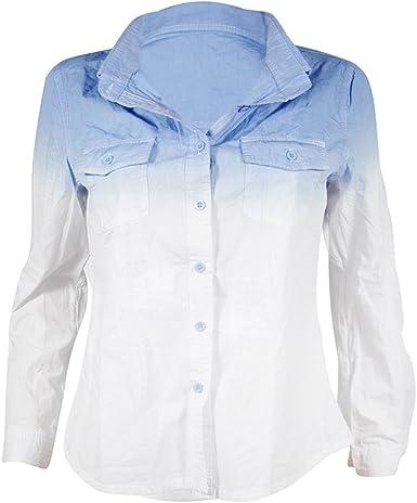 ishine (3 Colores) Camisa Mujer Manga Larga Camisas Flor Camisa Blanca Mujer: Amazon.es: Ropa y accesorios