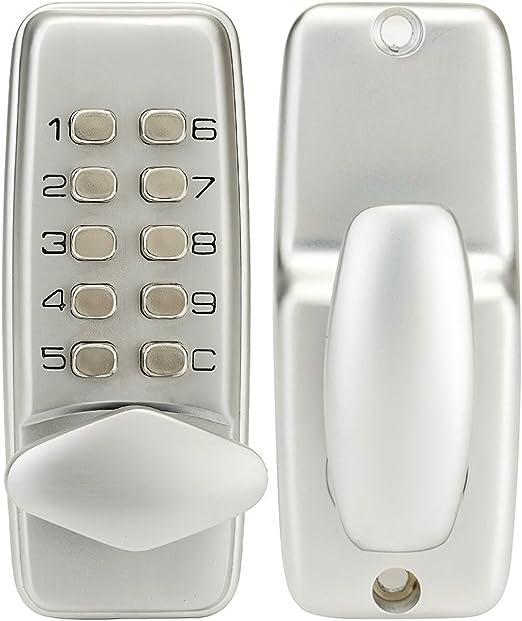 4365 Cerradura mecánica para puertas con teclado numérico de 10 números