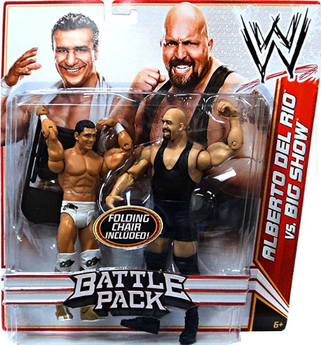 WWE Battle Pack: Alberto Del Rio vs. Big Show Figure 2-Pack Series 16
