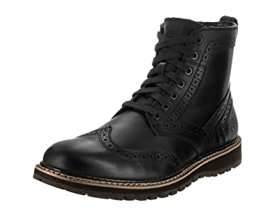a7bffb8ef4d Timberland Mens Britton Hill Wing Tip Boot