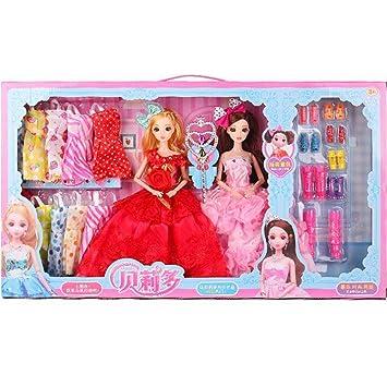 Amazon.es: Ropa Vestido de fiesta Trajes para muñecas + ...