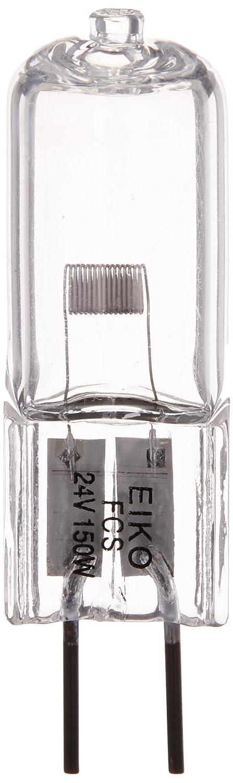 Eiko FCS T-4 G6.35 Base Halogen Bulb, 24V/150W