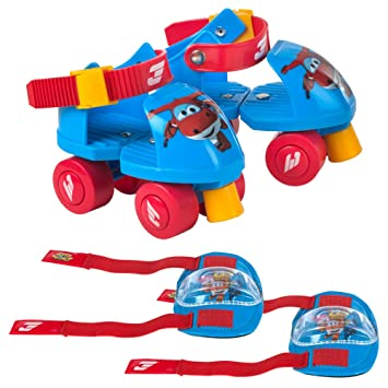 Super Wings- Patines Ajustables (Colorbaby 77012)
