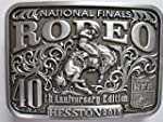 National Finals Rodeo Adult Belt Buckle Hesston 2015 NFR New Wrangler Cowboy