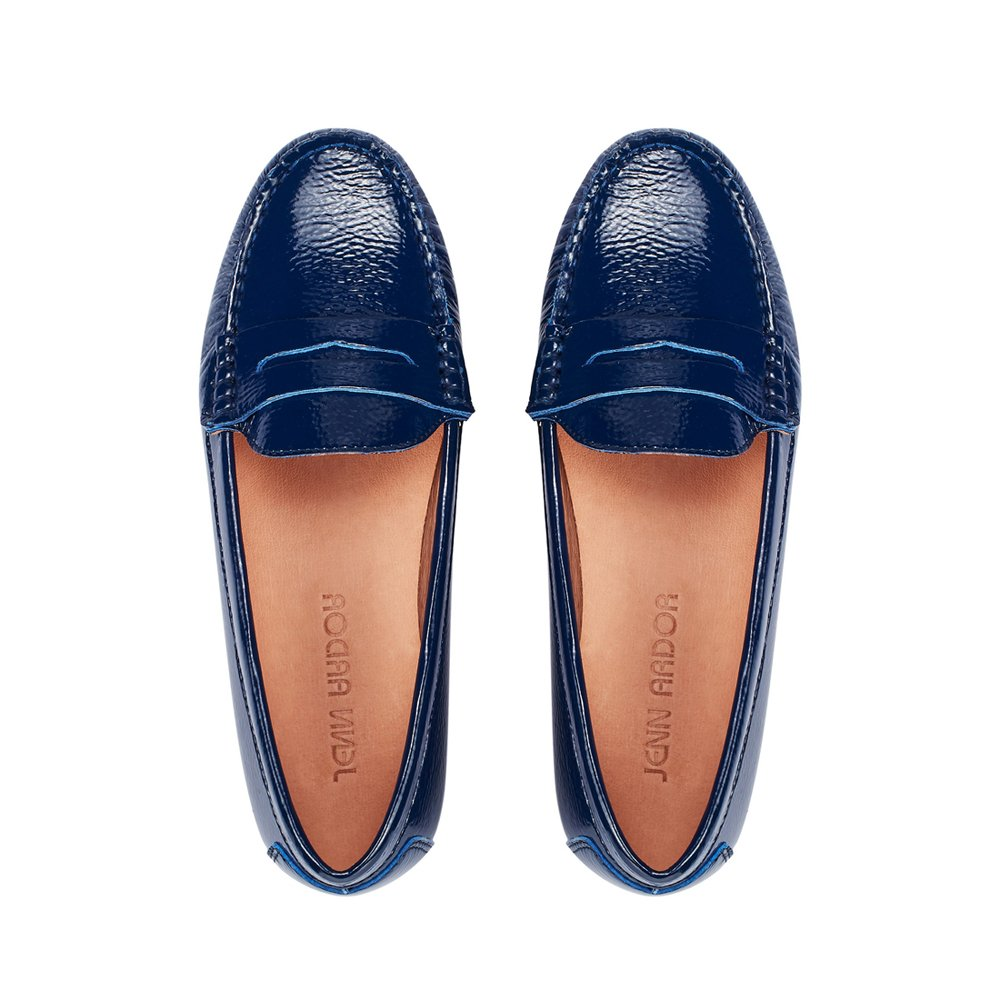 JENN ARDOR Penny Loafers for Women: Vegan Leather Slip-On Comfortable Driving Moccasins Flats by JENN ARDOR (Image #1)