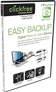 Clickfree Automatic Backup DVD Photo and Video Edition DVD100-3, 3-Pack (Discontinued by Manufacturer)