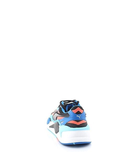 PUMA SNEAKERS RS X LEVEL UP DA UOMO BLACKHOTCORAL, 37316902