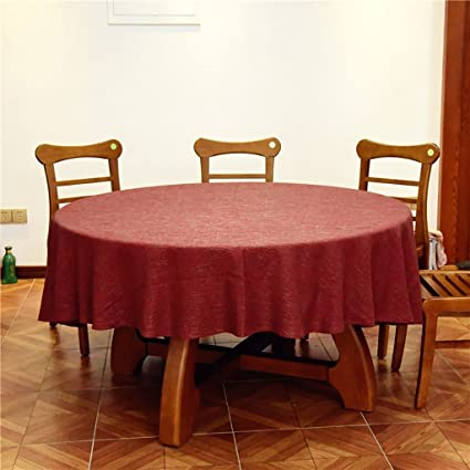 Merveilleux WENJUN Christmas Round (Circular) Tablecloth Ideal For 4 6 Place Settings  (120