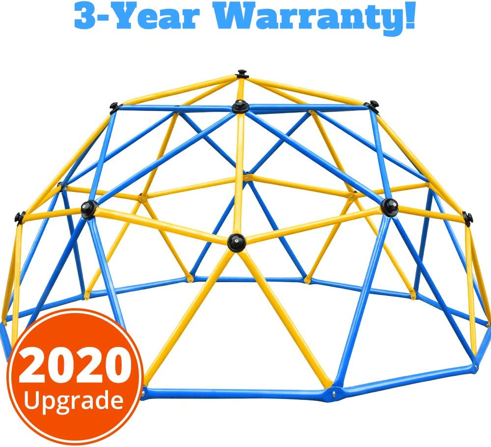 Zupapa Outdoor Geometric Jungle Gym with 750LBS Weight Capability, Suitable