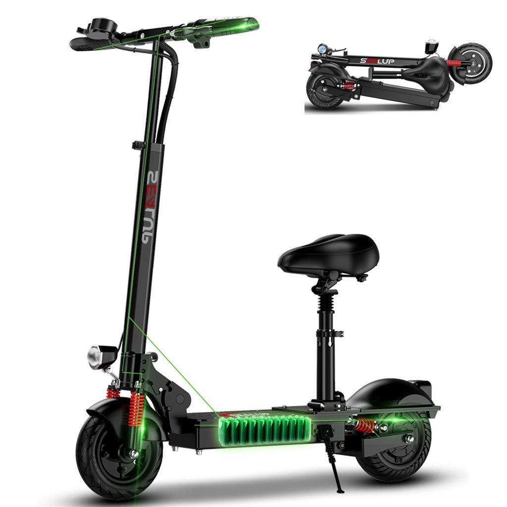 AMINSHAP Mini Scooter Eléctrico, Neumático Sólido A Prueba ...