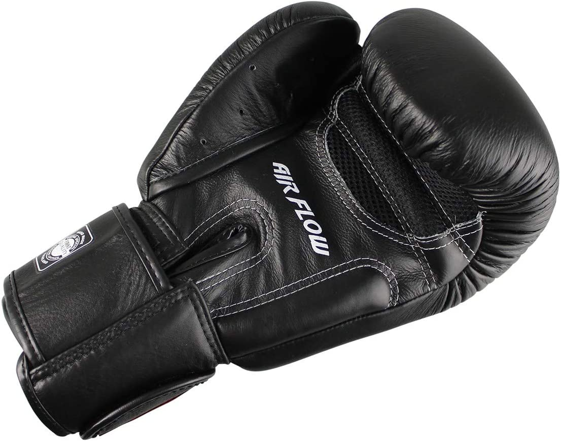 boxing gloves for MMA kickboxing black sparring made of leather muay thai Twins special boxing gloves BGVL 3/Air
