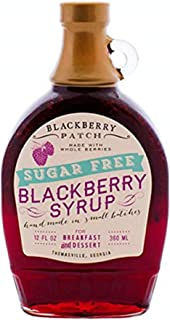 product image for Blackberry Patch, Syrup Whole Blackberry No Sugar Added, 12 Ounce