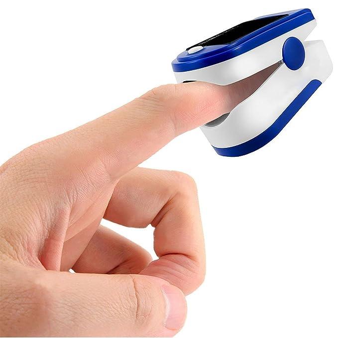 Befaith C101J0 Digital SpO2 Finger Oxímetro de pulso Monitor de dedo de oxígeno Medidor de nivel de saturación de oxígeno en sangre: Amazon.es: Bricolaje y ...