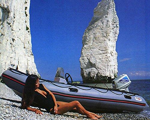 Amazon com: 1986 Avon Inflatable 8 Power Boat Factory Photo