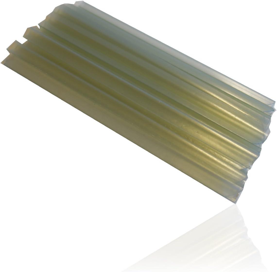 20 Befestigungsclips BRUCHSTEIN HSM 4 x Zaun Sichtschutz Blende Zaunfolie Sichtschutzstreifen 19cm x 35m aus hochwertigem PVC als Windschutz inkl