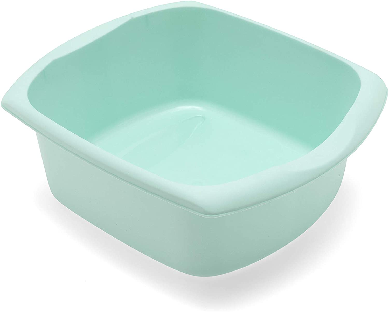 Plastic Rectangular Washing Up Bowl Small Large Home Kitchen Bowls