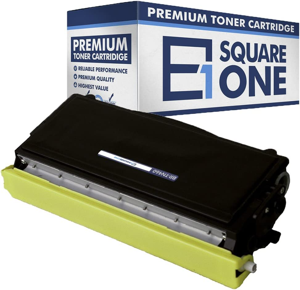 eSquareOne Compatible High Yield Toner Cartridge Replacement for Brother TN460 TN430 TN6600 TN6650 Black, 10-Pack