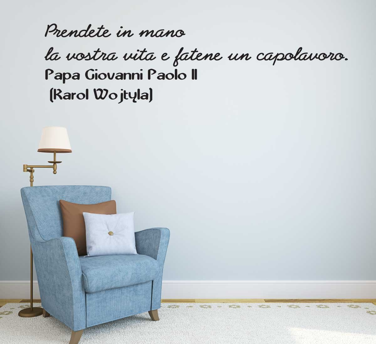 Adesivo4you Wall Sticker Prendete In Mano La Vostra Vita E Fatene Un