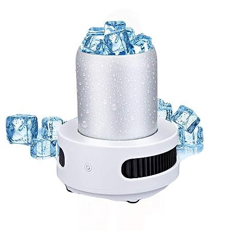 Enfriador Tazas Mini Refrigerador, Portátil Nevera De Escritorio ...