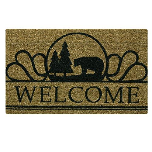 Bacova Guild Boone Welcome Printed Coir Mat