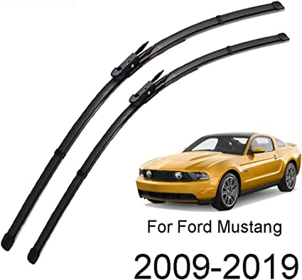 """22/'/' 20/"""" Front Windshield Wiper Blades For Ford Mustang 2009-2019 2018 2017 2016"""