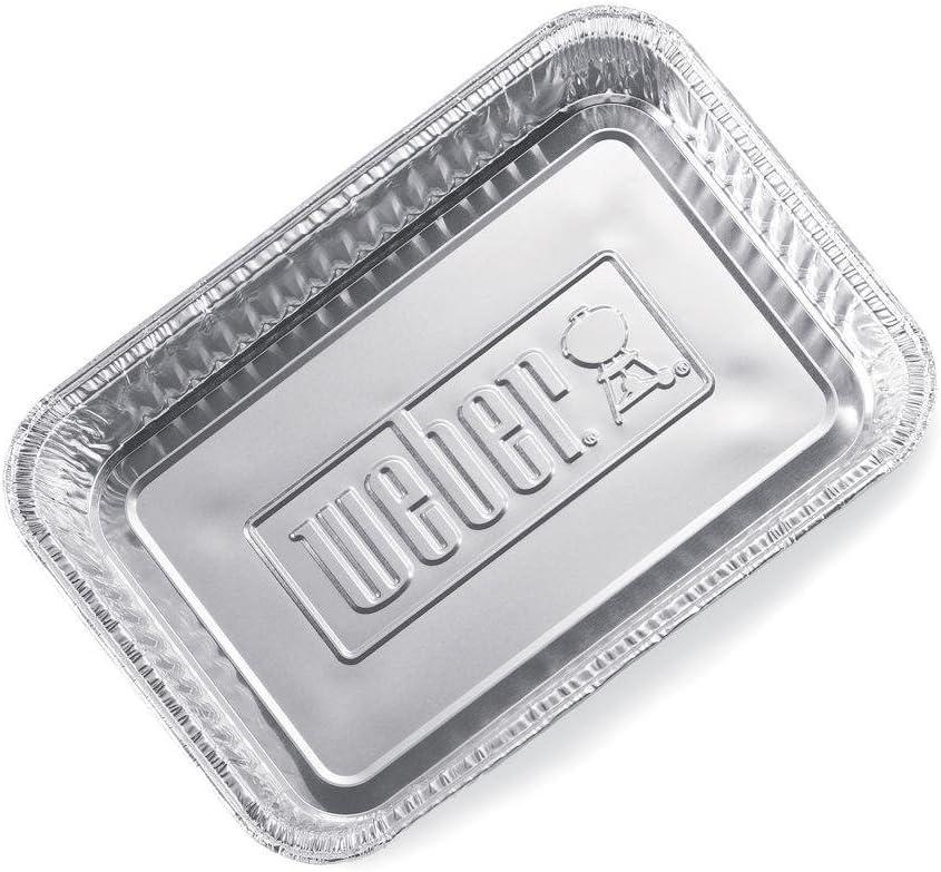 Weber Petites barquettes en aluminium Weber