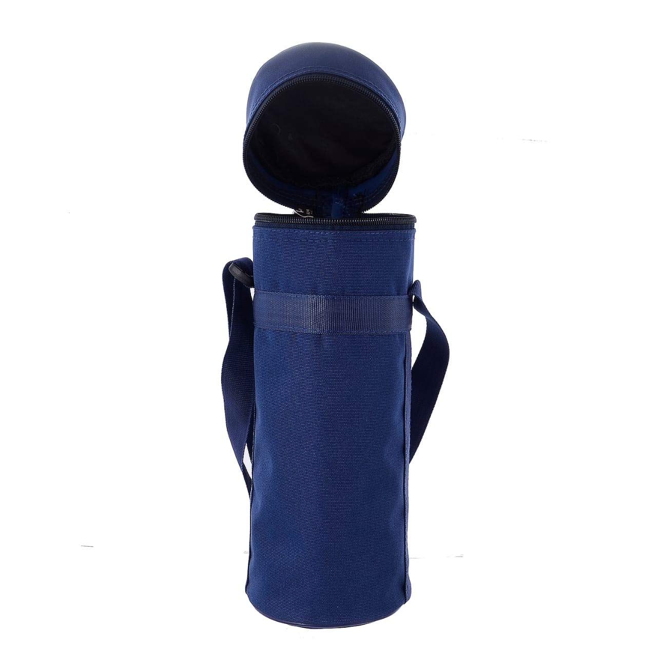 ff6134c8d2 Buy VIHAAN Polyester Round Zipper Insulated Bottle Cover (Blue, 1 L) Online  at Low Prices in India - Amazon.in
