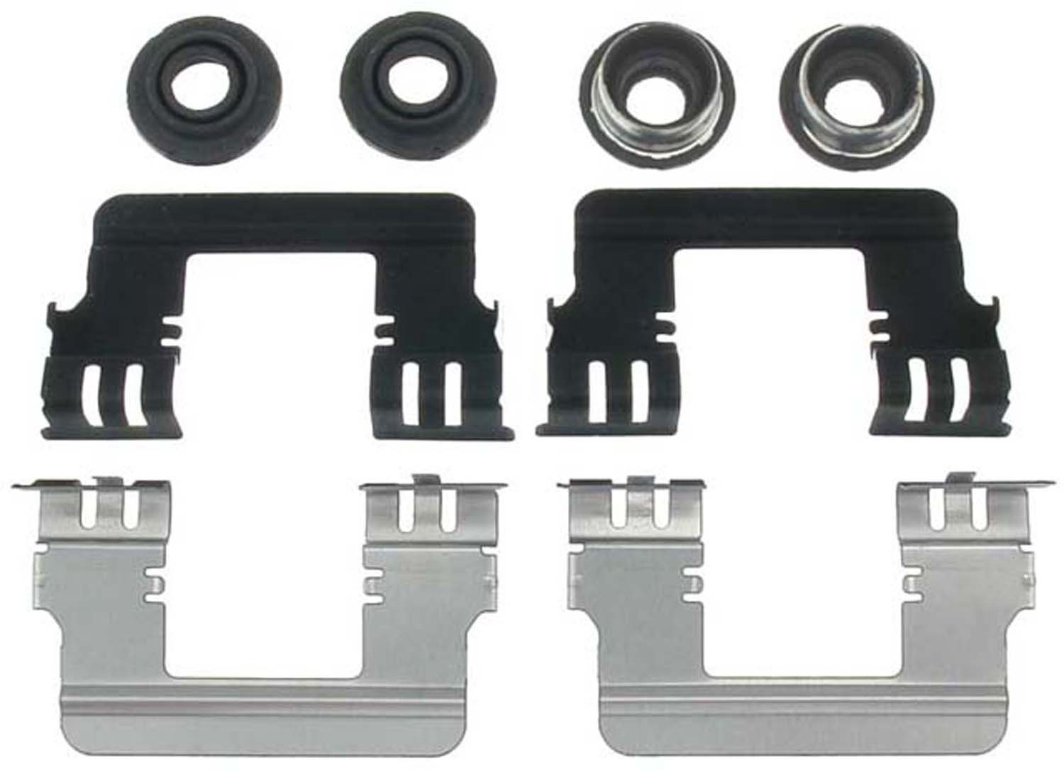 ACDelco 18K2471 Professional Front Disc Brake Caliper Hardware Kit with Clips and Seals