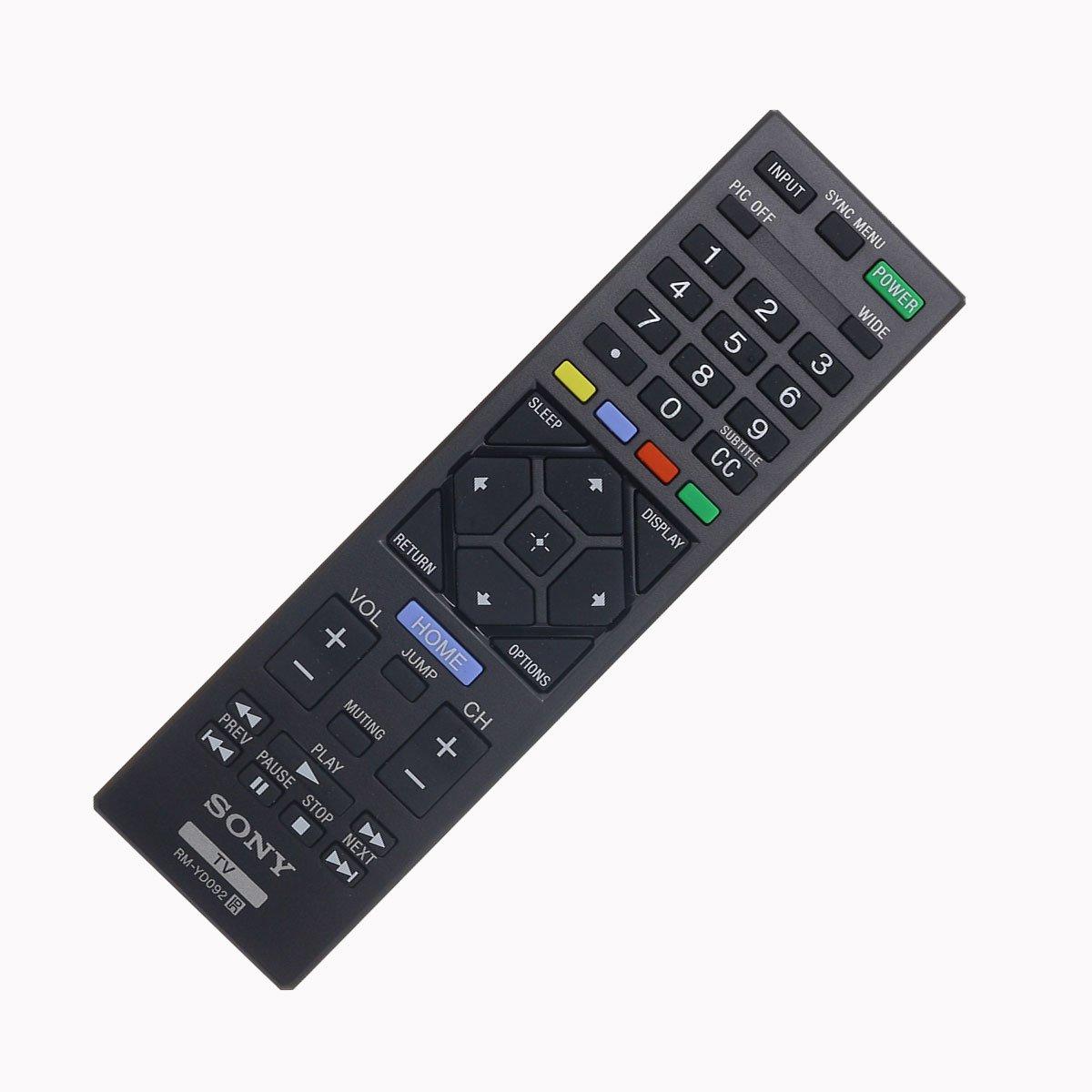 NEW ORIGINAL GENUINE RM-YD092 REMOTE CONTROL RMYD092 149206511 1-492-065-11 OEM
