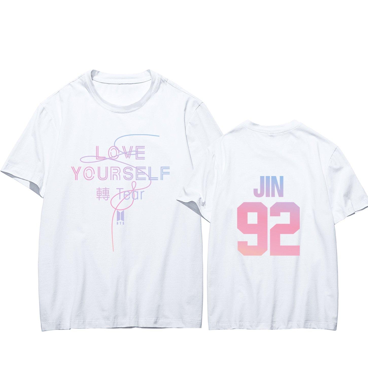 Dolpind Kpop BTS Shirt Merchandise Love Yourself Tear Suga Jung Kook Jimin Tshirt