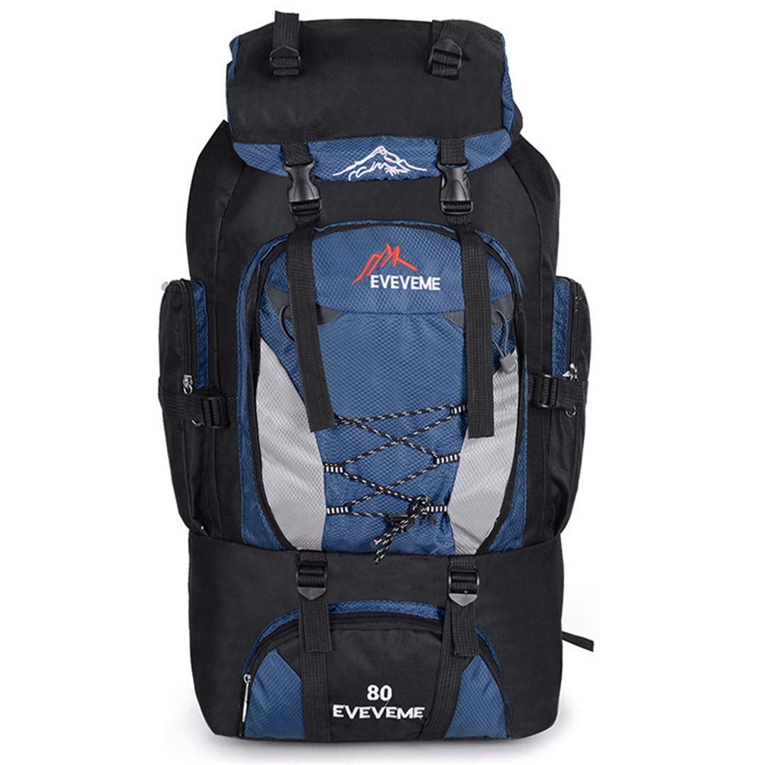 Outdoor Large Capacity Mountaineering Bag Nylon Mens Package Hiking Camping Backpacks Womens Traveling Bags