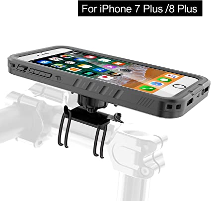 Cozycase Soporte Bici Porta movil para telefono Bicicleta Impermeable de Motos con de Cuerpo Completo Resistente para iPhone 8 Plus/iPhone 7 Plus: Amazon.es: Electrónica