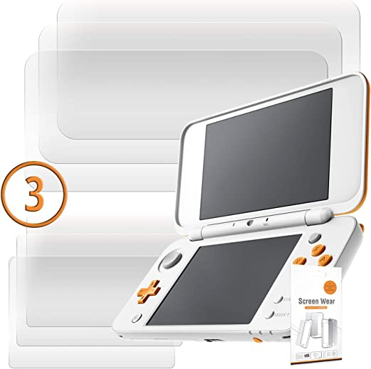 Orzly 2DSXL Protectores de Pantalla, Multi-Pack de 6 Protectores (3 para la Pantalla de Arriba, y 3 para la Pantalla de Abajo) – 100% Transparente para New Nintendo 2DS XL (2017 Version): Amazon.es: Electrónica