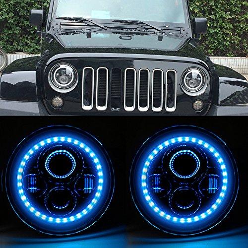 Blue Led Halo Lights in US - 6