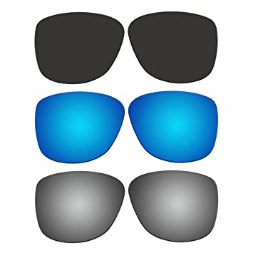 36f02c0e97 Image Unavailable. Image not available for. Color  ACOMPATIBLE 3 Pair Replacement  Polarized Lenses for Oakley Reverie Sunglasses OO9362 ...