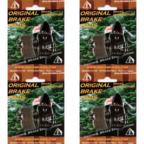 4 Pairs of DiscoB Hayes HFX Nine Disc Brake Pads HFXMag HMX MX1 Hayes9 H HFX9 9
