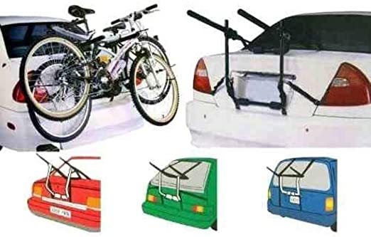 ukdabzz Roadster Universal Adjustable Cycle Carrier 2 Bikes Rear Mounted