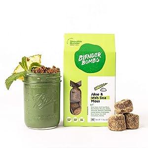 Blender Bombs: Aloe & Irish Sea Moss