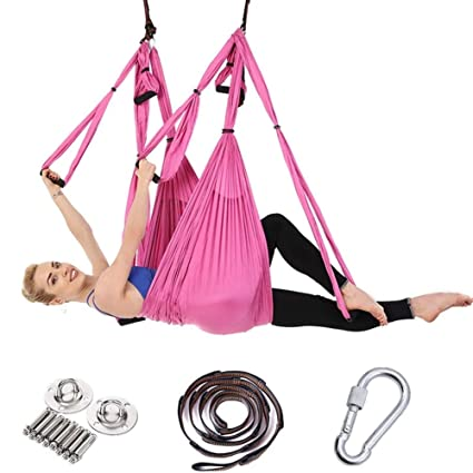 Amazon.com : Yoga Hammock - Full Set 2.51.5m Aerial Yoga ...