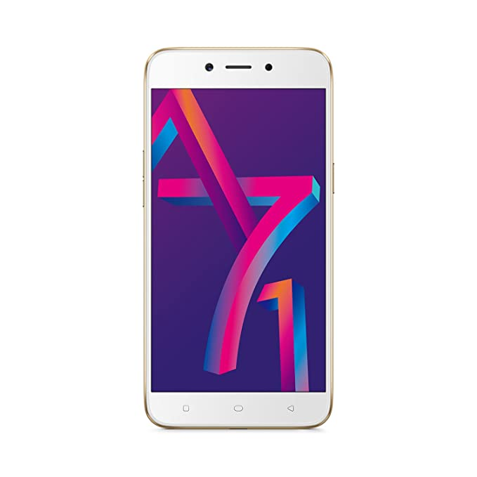 new concept 2241c 0fcdc Oppo A71k (Gold, 3GB RAM)